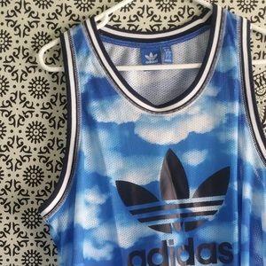 Adidas Originals Men Cloud basketball Mesh Jersey